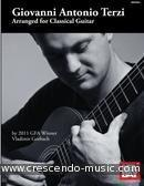 Arranged for classical guitar. Terzi, Giovanni Antonio