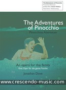 The Adventures of Pinocchio (Vocal score). Dove, Jonathan