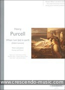 Dido's Lament (3 keys: E minor, F minor, G minor). Purcell, Henry