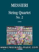 String Quartet No.2. Messieri, Massimiliano
