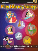 Play Disney songs (Euphonium, treble clef). Album