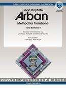 Method for trombone. Arban, Jean-Baptiste