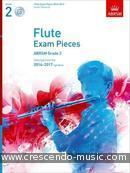 Flute Exam Pieces 2014-2017 - Grade 2 (Score, part & CD). Album