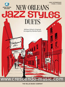New Orleans jazz styles - duets. Gillock, William
