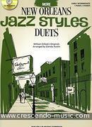 More New Orleans jazz styles - duets. Gillock, William