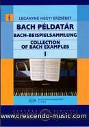 Collection of Bach Examples - Vol.1. Erzsebet, Leganyne Hegyi