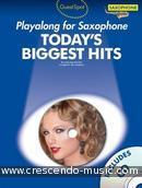 Guest Spot: Today's Biggest Hits (Playalong for alto sax). Album