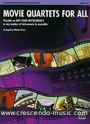 Movie Quartets for All (Flexible parts - Trb/Bsn/Tuba). Story, Michael