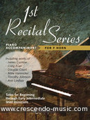1st Recital series for F horn (Piano accompaniment). Album