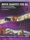 Movie quartets for all (Flexible parts - Bb Tpt, baritone). Album