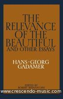 The Relevance of the Beautiful and Other Essays. Hans-Georg, Gadamer