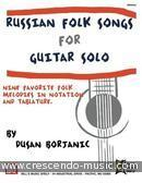 Russian Folk Songs. Borjanic, Dusan