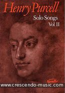 Solo Songs - Vol.2. Purcell, Henry