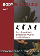 Body Percussion - Vol.1 (Leer & werkboek). Epis, Marco