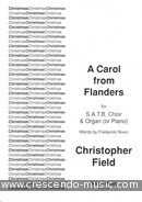 A Carol from Flanders. Field, Christopher