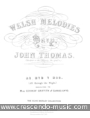 All Through the Night (Welsh melodies for the harp). Thomas, John