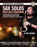 Sax Solos over Jazz Standards. Dagradi, Tony