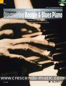 Discovering Boogie & Blues Piano. Wierzyk, Wolfgang