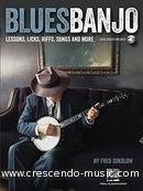Blues Banjo. Sokolow, Fred