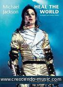 Heal the World (Set 10 choral scores and piano score). Jackson, Michael