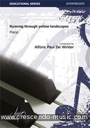 View a sample page! Running trough yellow - De Winter, Alfons Paul