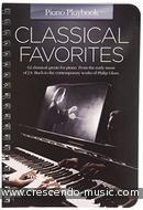 Piano Playbook: Classical Favorites. Album