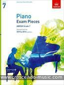 Piano Exam Pieces 2015 & 2016 - Grade 7. Album