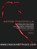 Anthology for Voice and Piano. Piazzolla, Astor