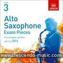 Alto Saxophone Exam Pieces 2014 - Grade 3 (Cd only). Album