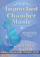 Improvised Chamber Music. Agrell, Jeffrey