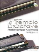 Tremolo And Octave Harmonica Method. Duncan, Phil