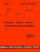 Schumann - Brahms - Kirchner: Easy Piano Pieces - Vol.4. Album