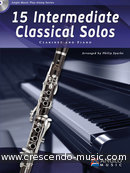 15 Intermediate Classical Solos (Clarinet). Album