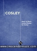Major & Minor Scales/Modes for Guitar. Cosley, Dan