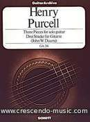 3 Pieces. Purcell, Henry