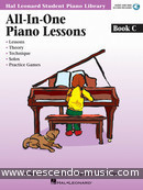 All-in-One Piano Lessons - Book C. Kreader, Barbara; Kern, Jerome; Keveren, Phillip