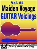 Maiden Voyage (Vol.54) Guitar Voicings. DiLiddo, Mike