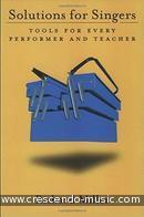 Solutions For Singers (Tools for every performer & teacher). Miller, Richard