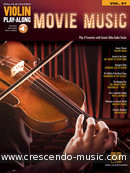 View a sample page! Violin Play-along - Vol.57: Movie Music - Album