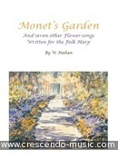 Monet's Garden. Mahan, William