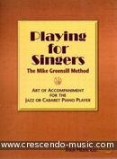 Playing for singers (Instrumental Solos). Greensill, Mike