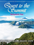 Quest to the Summit (Concert band score & parts). Yeo, Benjamin