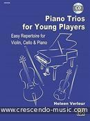 Piano Trios for Young Players. Verleur, Heleen