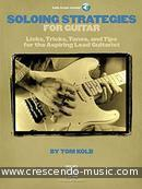 Soloing Strategies for Guitar. Kolb, Tom
