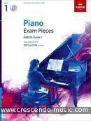 Piano Exam Pieces 2017 & 2018 - Grade 1 (Book & CD). Album