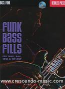 Bass Funk Fills. Vitti, Anthony