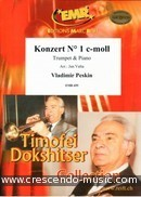 Trumpet Concerto No.1 in C minor (Piano reduction). Peskin, Vladimir