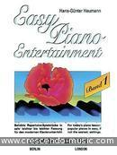Easy Piano Entertainment - Vol.1. Heumann, Hans-Gunther