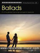 View a sample page! Easy Keyboard Library : Ballads - Album