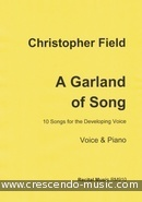 View a sample page! A Garland of Song - Field, Christopher